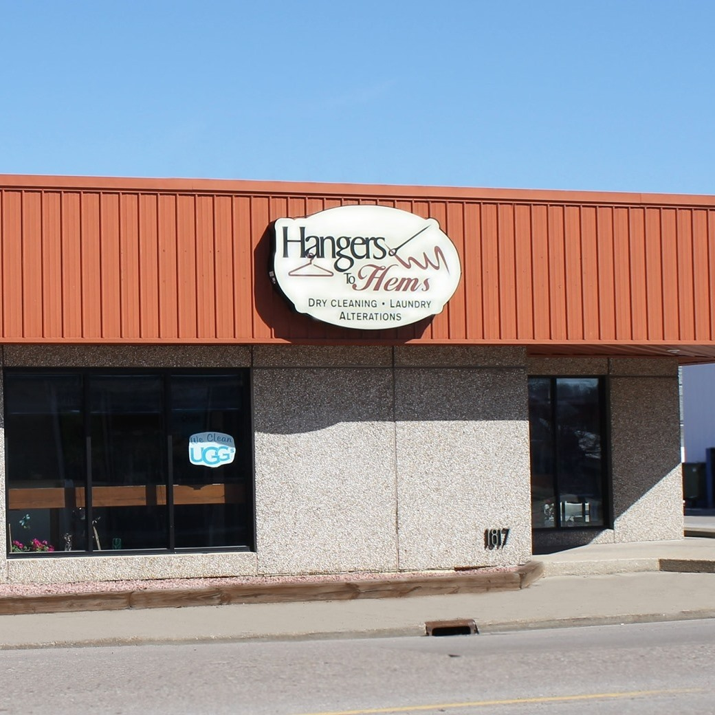 Hangers to Hems La Crosse location for dry cleaning, laundry and alteration services